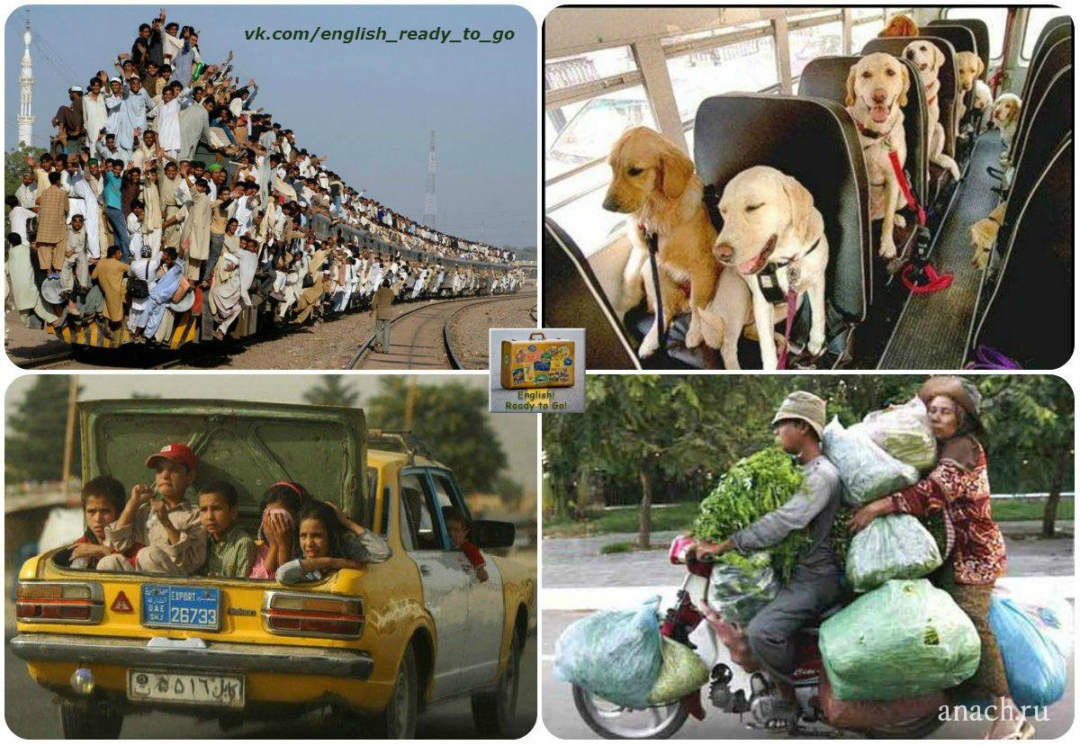 Ехать на транспорте Transport   транспорт